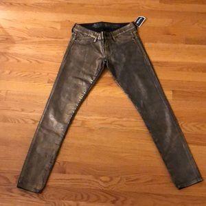 Never worn gold express pants!